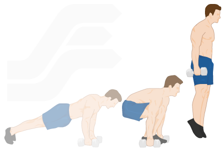 Burpees Exercise Guide Tips And Workout Ideas Bodyweight
