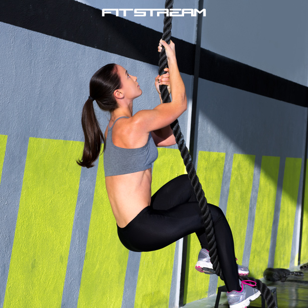 rope climbing exercise for strength conditioning bodyweight