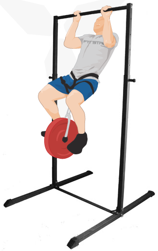 Freestanding pull-up bar