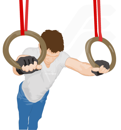 Planche Push Ups On Rings