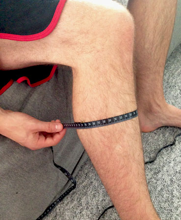 Calf Muscle Measurement