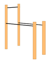 pull-up / dip combo bars
