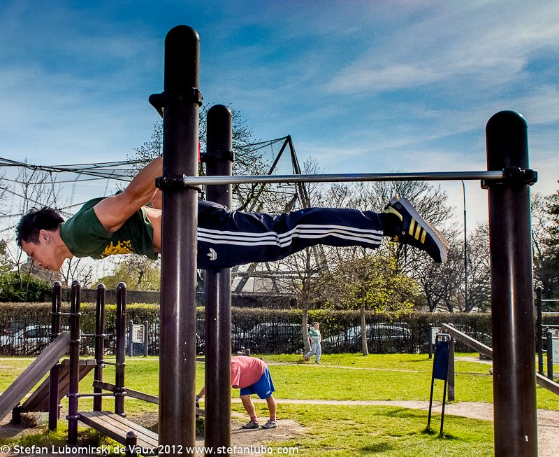Back Lever A6020 on abdominals exercises