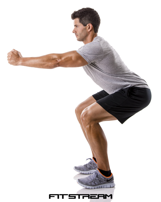 Bodyweight Squat Exercise for Strength - Bodyweight ...