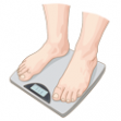 weight scales thumb